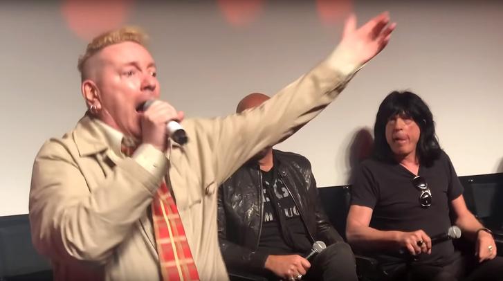 Johnny Rotten és Marky Ramone
