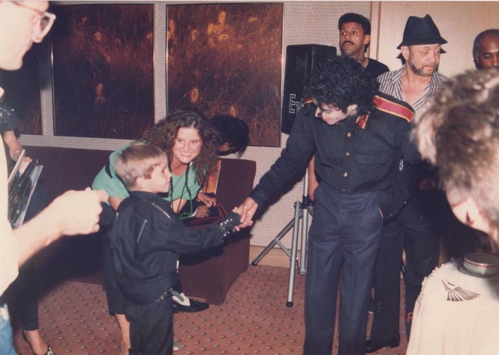 Wade Robson talalkozása Jacksonnal