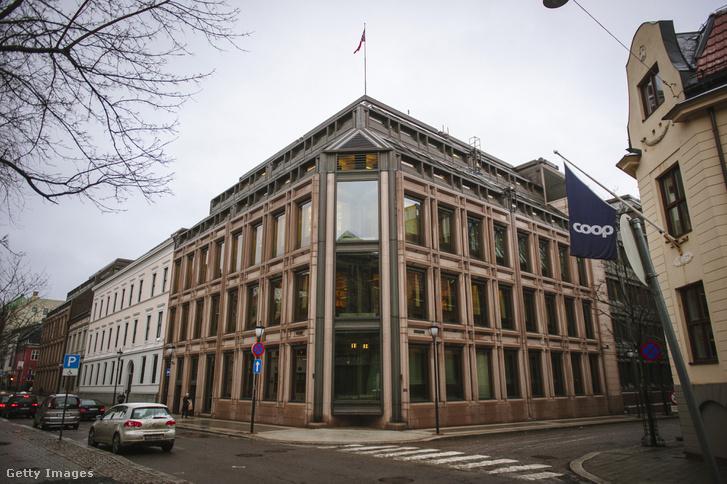 A Norges Bank (norvég központi bank) épülete