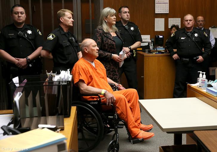 Joseph James DeAngelo a bíróságon 2018. április 27-én.