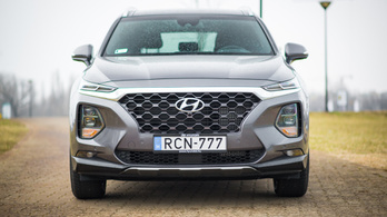Hyundai Santa Fé 2,2 CRDI 4WD - 2019.
