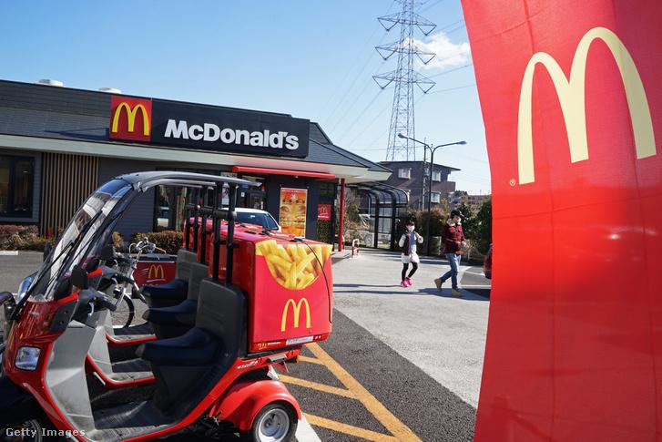 McDonald's robogók, amikkel házhoz szállítják a rendelést Tokióban