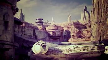 Jött másfél percnyi drónfelvétel a Star Wars vurstliból