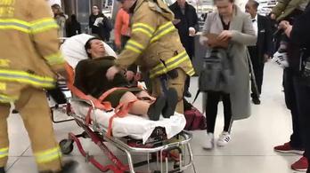 Ide-oda dobált egy utasszállítót a légörvény, harmincan megsérültek