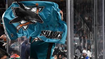 Már a Sharks vezeti az NHL nyugati főcsoportját