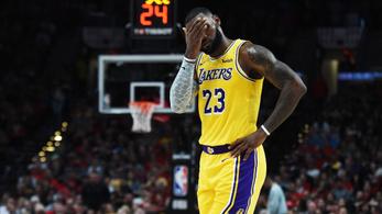 2005 óta idén először maradhat le LeBron James a rájátszásról