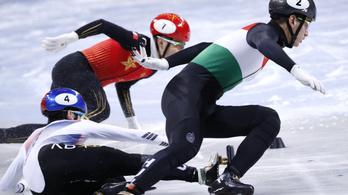 Liu Shaolin Sándort megint kizárták a gyorskorcsolya vb-n