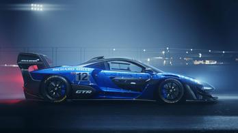 Egy tonna leszorítóerőt termel az eddigi legpengébb McLaren
