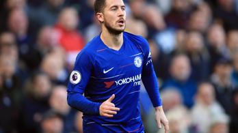 A 92.-ben mentette meg Hazard a Chelsea-t