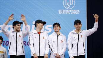 Vb-bronzérmes lett a magyar gyorskorcsolyaváltó