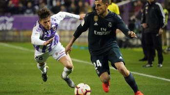 Kezd kimászni a szakadékból a Real Madrid
