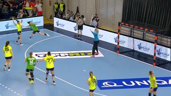 A Fradi-szélső gólja megihlette az EHF szerkesztőit
