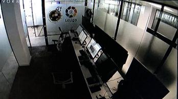 Üres videóbírós szobát vágtak be a Real-meccsen