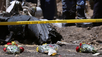 Megtalálták a lezuhant etióp gép feketedobozát