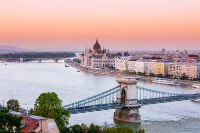 budapest tájkép látkép légifelvétel