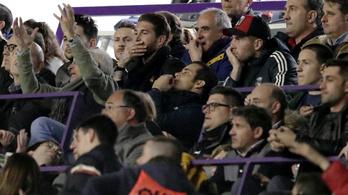 Sergio Ramos gyorsan meggondolta magát