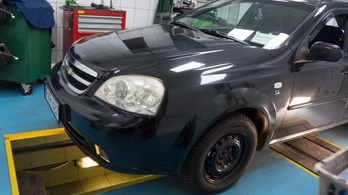 MűhelyPRN 6.: Chevrolet Nubira Wagon 1,6 (2007)