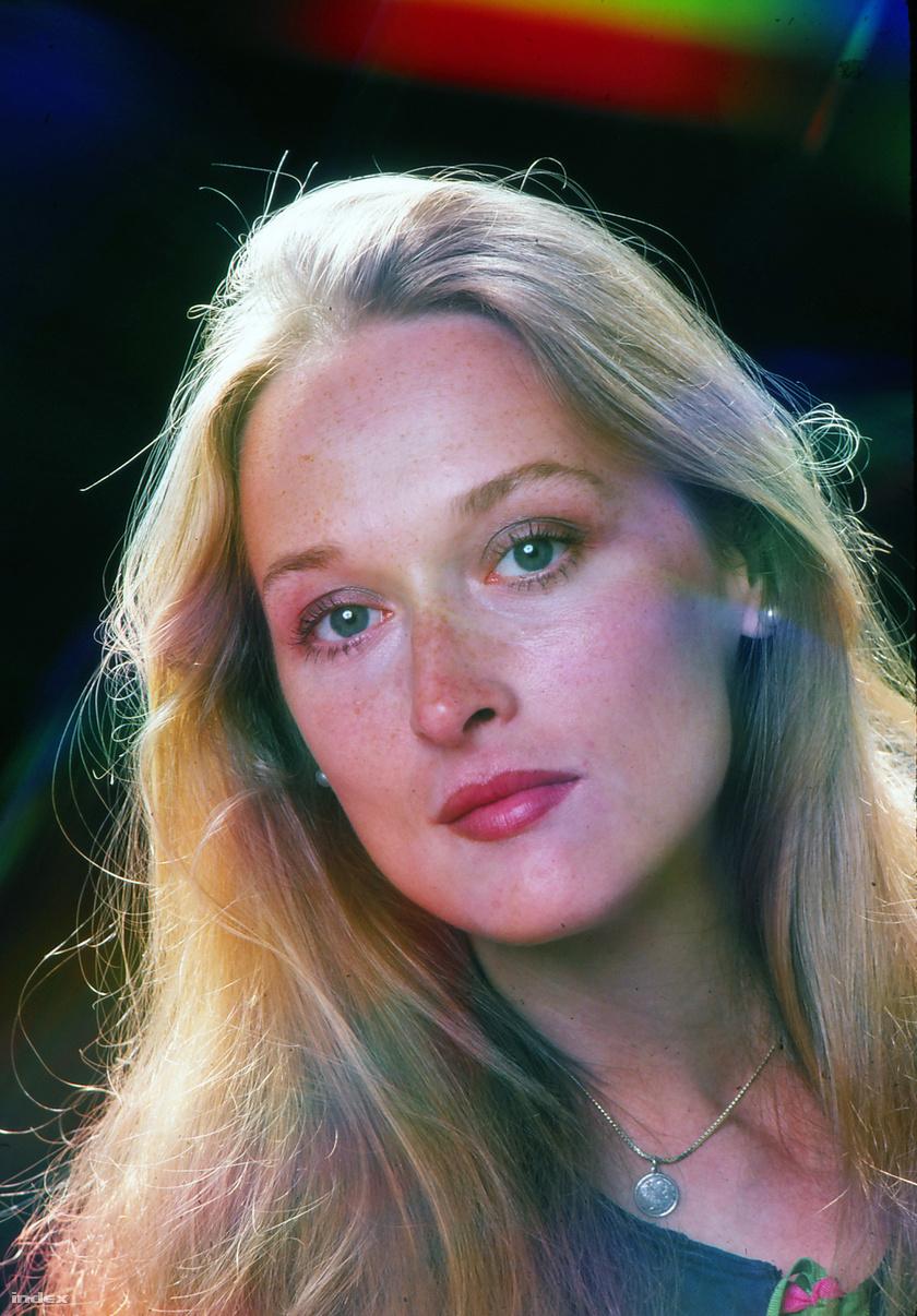 Meryl Streep a '70-es évek egyik legszebb arcú színésznője volt.