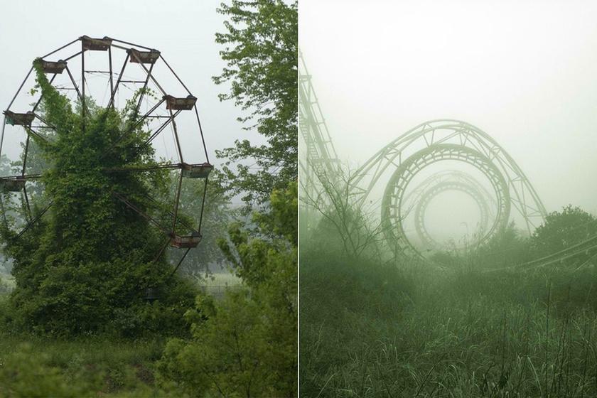 A japán Nara Dreamland Park 2006-ban, többszöri tulajdonosváltás után bezárta kapuit. Azóta leginkább kísértetjárta vidékhez hasonlít.