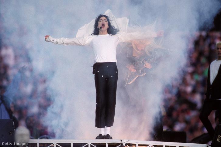 Michael Jackson 1993-ban.