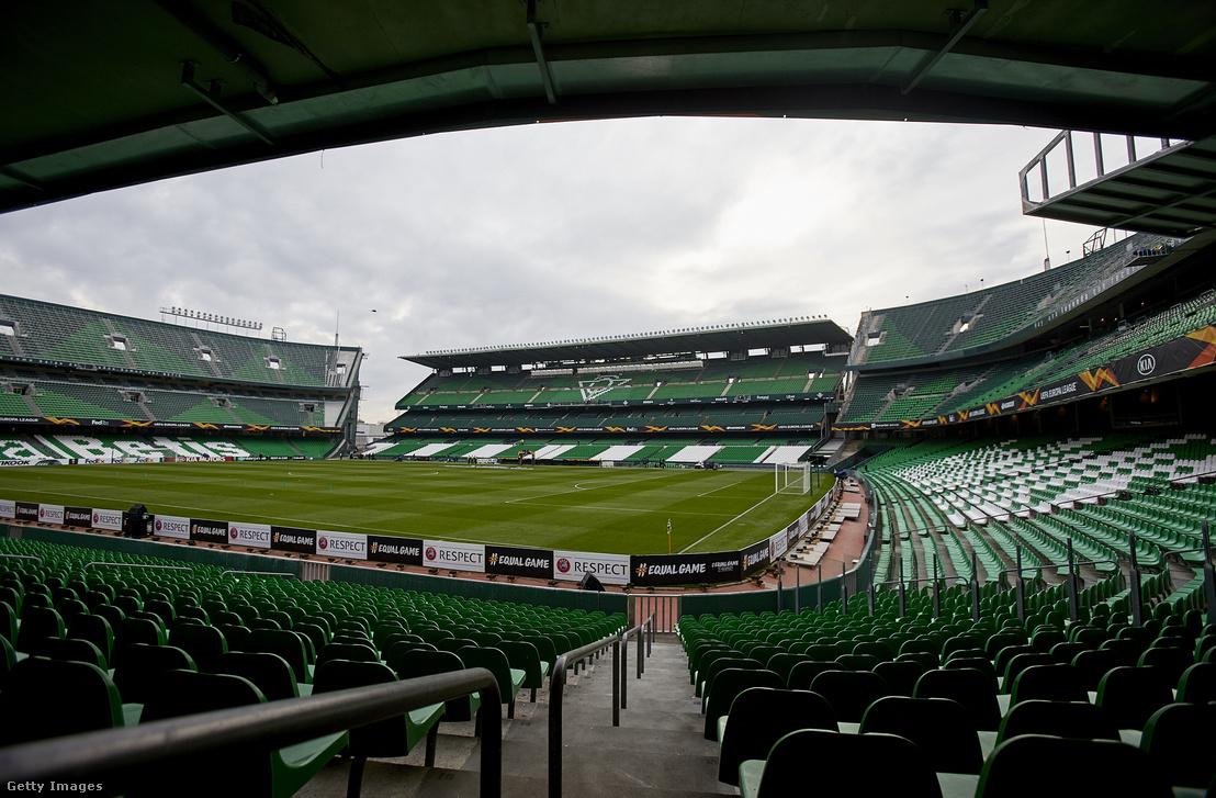 Real Betis stadionja, az Estadio Benito Villamarín