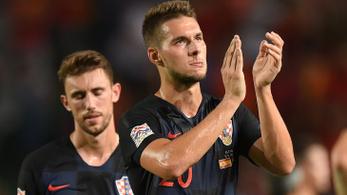 Fontos játékost vesztettek a horvátok az Eb-selejtezőnk előtt