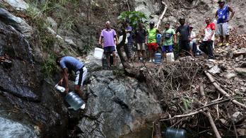 Víz és áram nélkül maradt a venezuelai főváros