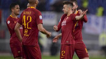 Pazar góllal indított Ranieri alatt a Roma