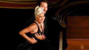 Annyira szexisek voltak Lady Gagáék az Oscaron, hogy a Shallow újra rekordokat dönt