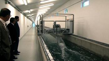 Iszonyatosan gyorsul a vízhozammérő