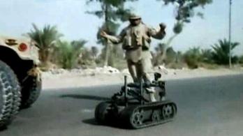Robotok vívhatják a jövő háborúit