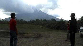 Nagyot szólt az indonéz vulkán