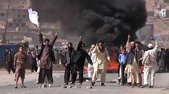Erősödő tálib akciók Kabulban