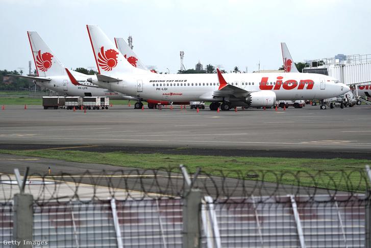 Lion Air indonéz légitársaság repülői