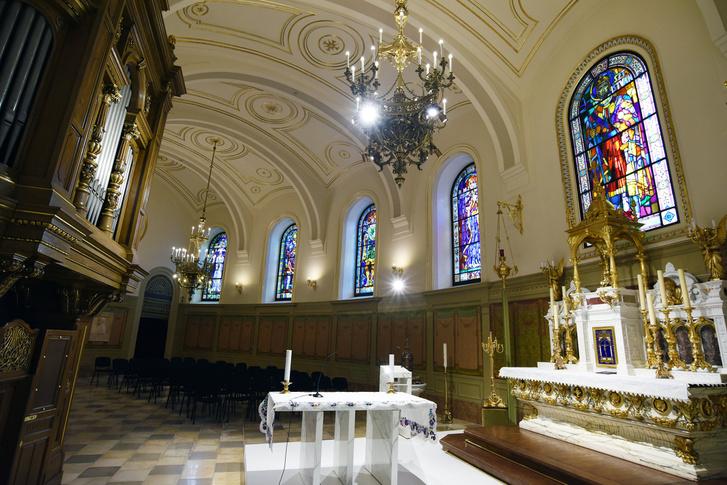 A felújított Szent Jobb-kápolna a Bazilikában