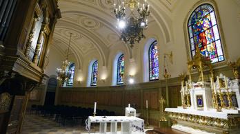 Helyreállították a budapesti Szent Jobb-kápolnát