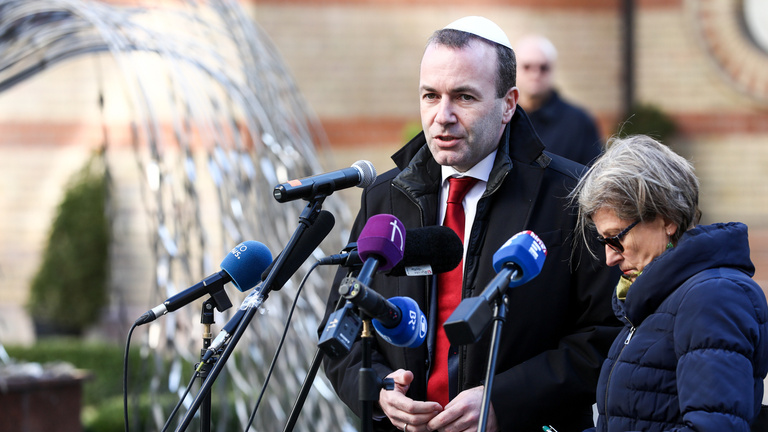 Manfred Weber in Budapest: EPP's values are non-negotiable, Fidesz has to respect them