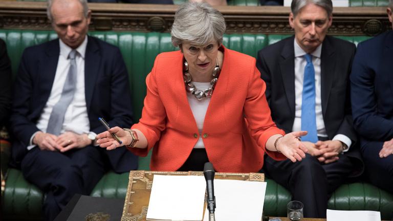 Brexit: megint óriási többséggel szavazták le May megállapodását