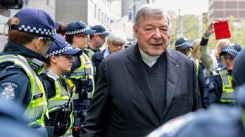 Ausztráliában pedofília miatt kerül rács mögé a Vatikán egykori harmadik embere