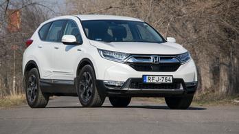 Teszt: Honda CR-V Hybrid 2WD - 2019.