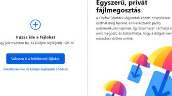 Ingyenes, titkosított fájlküldőt indított a Mozilla