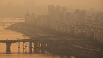 Vészforgatókönyv lépett életbe Dél-Koreában a légszennyezés miatt