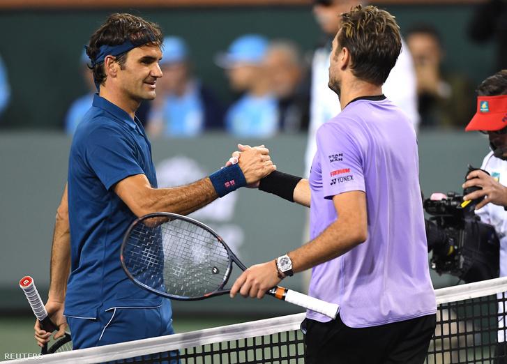 Roger Federer és Stan Wawrinka