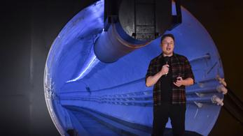 Elon Musk már idén alagutat fúrna Vegasban