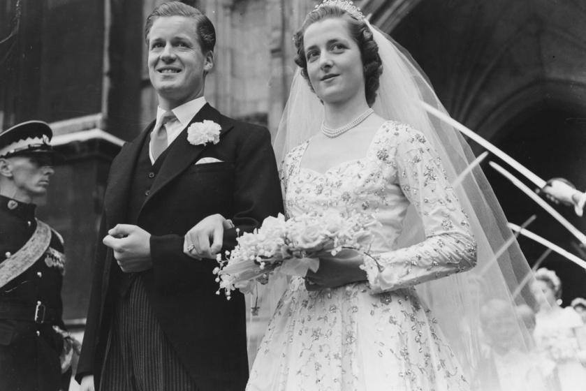 Diana édesanyja gyönyörű menyasszony volt, amikor 1954-ben összeházasodott Edward John Spencerrel, a hercegnő apjával.