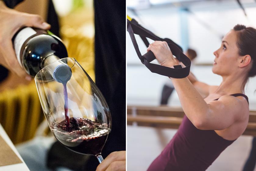 1 dl fehérbor 82 kalória, 10 perc TRX pedig 79 kalóriát éget el, így minden decire 10 perc edzést érdemes számolni. De a bor csak valahol félúton helyezkedik el az alkoholok sorában, ha arról van szó, melyik mennyire hizlal.