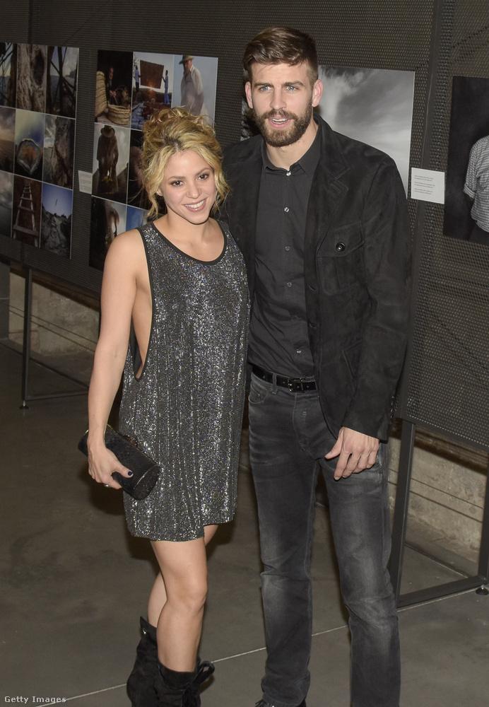 Kihagyhatatlan ez a focista-énekesnő pár is: Shakira és Gerard Piqué