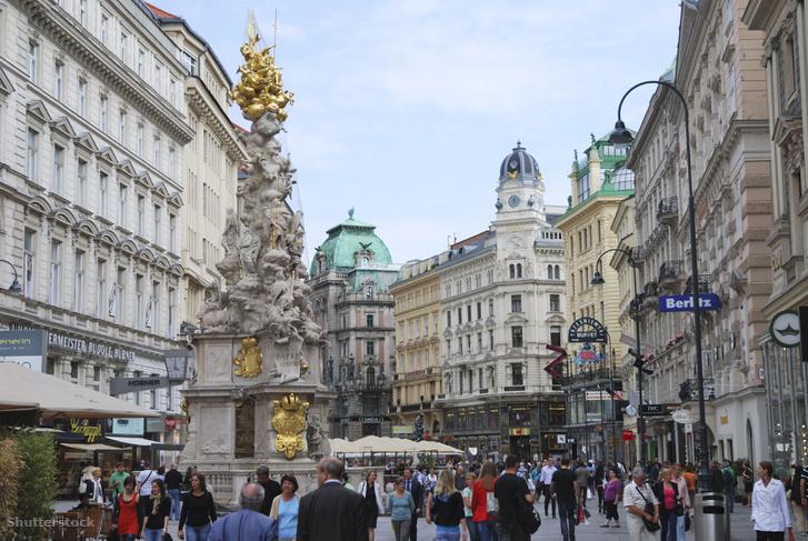 Bécsi utcakép