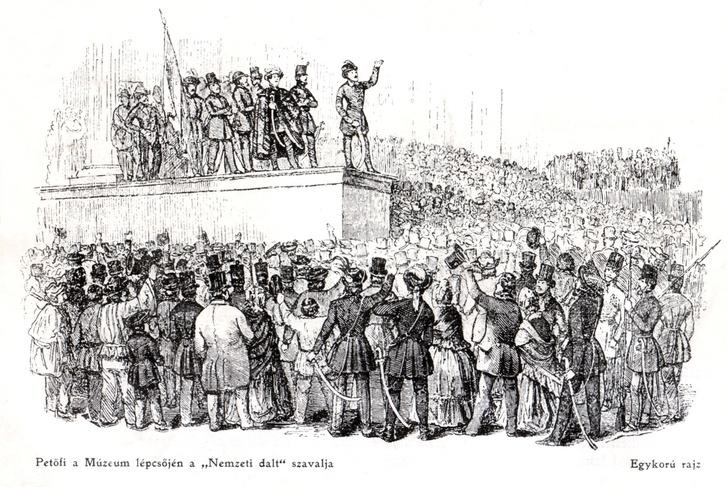 Petofi 1848 marcius 15