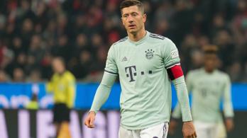 Lewandowski: A Bayern lehet az utolsó európai klubom
